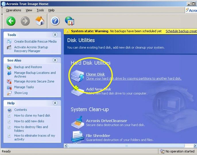 Clone Disk Util